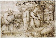 The Beekeepers, 1568, by Pieter Bruegel the Elder