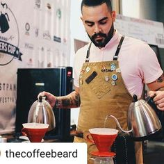 #Repost @thecoffeebeard with @instatoolsapp Precision!!!! #brew#coffee#barista#panama#v60#gesha#pourover#brewerscup