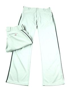 YOUTH GRAY WITH BLUE LINES ALLESON ATHLETICS BASEBALL PANTS SIZES XS TO XL