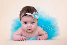 Newborn tutu baby tutu half tutu tutu skirt by CherryBlossomTale