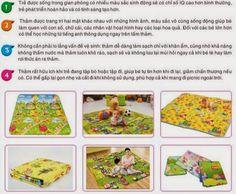 Đơn giản khi chọn thảm chơi cho trẻ