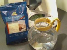 Pfiffig leben und kochen mit Joan: Kokosmilch kannst du selber machen: ganz easy im Thermomix.