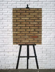 Would love to so this in my future home! it just feels like inspiration, ways to fill the canvas. Pejac http://restreet.altervista.org/la-street-art-minimalista-di-pejac/