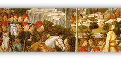 FLORENCE: TRAVELING WITH BENOZZO GOZZOLI - Meeting Benches