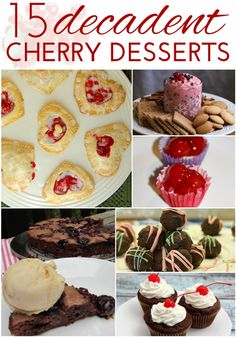 15 Decadent Cherry Desserts for National Cherry Month