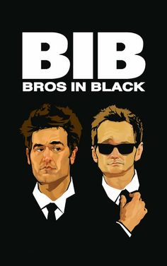 Bros In Black by Andrew Thompson