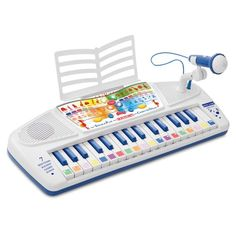 Speak and Play Computer Organ Toy Musical Instruments, Musical Toys, Shops, Cleaning Toys, Best Kids Toys, Musicals, Learning, Play Vehicles, Buzz Lightyear