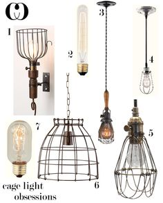 Cage Light Obsessions