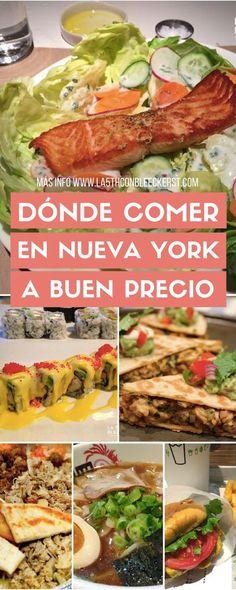 [GUÍA] Dónde comer en Nueva York a buen precio ACTUALIZADO 2017 #NuevaYork #NYC #Manhattan #NuevaYorkTurismo