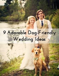 Get ready to roll over for these awesome dog wedding ideas and too-cute-for-words photos! From engagement photos with your pup, doggy ring bearers, and fido-focused vows, there are some many ways...
