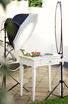 Food photography set up, learn photography, learn food photography
