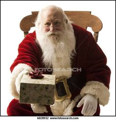 Santa is responsible for bringing kids their Christmas presents. He is Loosely connected to Saint Nicolas and is now the secular symbol of Christmas.