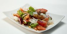 Бирманский томатный салат