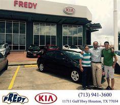 https://flic.kr/p/CzBazs | #HappyBirthday to Eric from Santos Shankar at Fredy Kia! | deliverymaxx.com/DealerReviews.aspx?DealerCode=OLRT