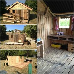 Canning pallets house #Garden, #House, #Kids, #Pallets, #Reclaimed