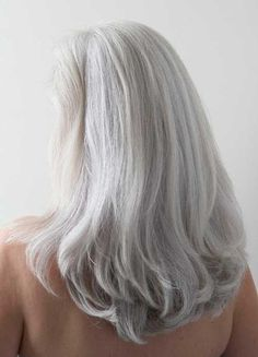 Long Gray Hair for Over 50