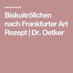 Biskuitröllchen nach Frankfurter Art Rezept | Dr. Oetker