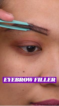 Eyebrow Makeup Tips, Beauty Makeup Tips, Skin Makeup, Beauty Secrets, Beauty Skin, Health And Beauty, Beauty Hacks, Makeup Eyebrows, Eye Brows