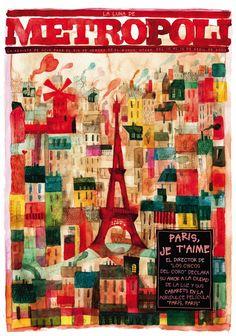 PARÍS PARÍS (Faubourg 36), una película de Christophe Barratier. Ilustración de Raúl Arias. Metropoli