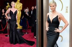 Best Dressed: Charlize Theron in Dior at the Oscars.