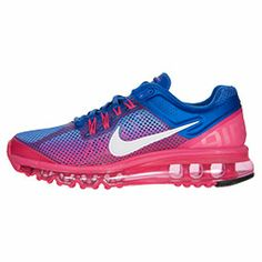 brand new 379cf 1d083 Women s Nike Air Max+ 2013 Premium Running Shoes   FinishLine.com   Hyper  Blue