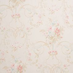 Color: RedSoft, floral pattern wallpaper. Shabby chic inspiredPaper Backed Vinyl. Washable. Peelable. Paste required; apply to wallpaperStraight Design Match. Pattern repeat every 20.8 Inch.This is fo