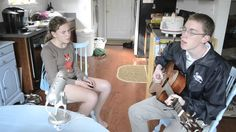 What is possible in any old kitchen with the laundry on the floor and the sink full of plates.  A heavenly family singalong. Check out more of their vids on Youtube. The whole family including cousins and aunts join in.