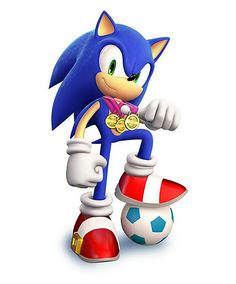 Sonic Soccer - Characters  Art - Mario  Sonic at the London 2012 Olympic Games.jpg