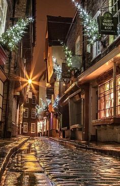 Christmas in York, England
