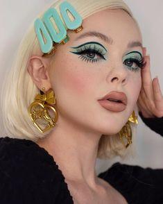 70s Makeup, Retro Makeup, Edgy Makeup, Makeup Eye Looks, Creative Makeup Looks, Eye Makeup Art, Fall Makeup, Cute Makeup, Skin Makeup
