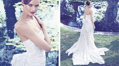 Giuseppe Papini Italian bridal gowns 2014 meet the Made in Italy tradition and enhances the stylistic innovation.