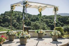 23 Wedding Chuppah Ideas We Love | Photo by: Delbarr Moradi Photography | TheKnot.com