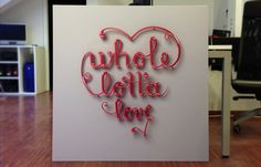 Whole lotta love by Nejc Polovsak, via Behance
