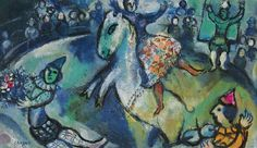 Marc Chagall Circus Paintings | Marc Chagall - Scene de Cirque (1958) | Flickr - Photo Sharing!