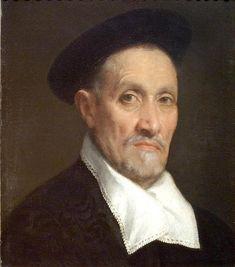 Giovanni Battista Moroni Painting - Bust Portrait Of A Magistrate by Giovanni Battista Moroni