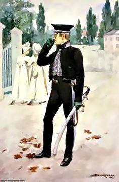 Porte Enseigne 1815