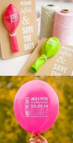 Save the date idea ❤
