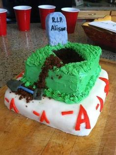 Pretty Little Liars Cake. Cool!!! -A would approve!! :)