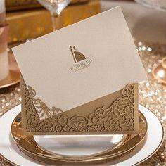 28 Style 1pcs Sample Wedding Invitations Card Hollow Lace Elegant Flora Flower Envelope Seal Business Card Casamento Party Decor