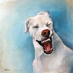 Not pictured: Air Guitar. Oil on canvas - X School Portraits, Pet Portraits, Dog Art, Oil On Canvas, Guitar, Doggy Stuff, Pet Products, Pets, Wolves
