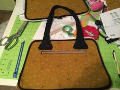 Ali Cat & Co.: Swoon Dorothy Sewalong day 3: Handles and Main Zipper
