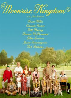The only Wes Anderson I've loved is The Royal Tennenbaums, but Moonrise Kindgdom is probably my second favorite. The young lead actors give natural performances that counterbalance the alienating twee-ness of Anderson's style.
