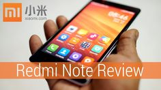 Xiaomi Redmi Note (a.k.a Hongmi Note) Review