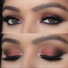 Today's eye makeup using the @loraccosmetics Pro Palette along with @shophudabeauty @h... | Use Instagram online! Websta is the Best Instagram Web Viewer!