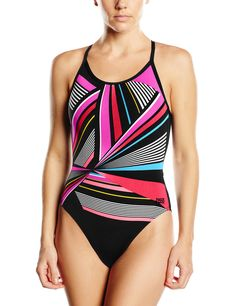 fa6ff432d9 Glide through the lengths in this one-piece swimsuit for women. The ...