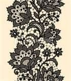 Image detail for -Vertical Seamless Pattern Black Lace Royalty Free Stock Vector Art ...