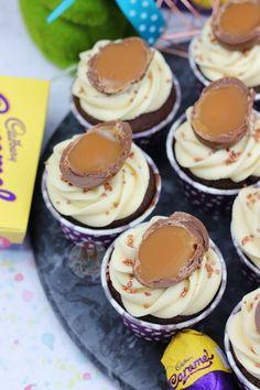 Cadbury's Caramel Cupcakes! - Jane's Patisserie
