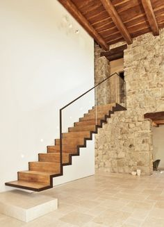 ideas for floating stairs concrete design