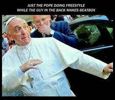 the pope beatbox -