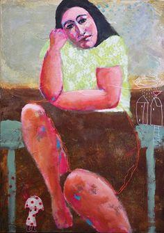 Gloria-Keller-Los-Espacios-de-la-memoria Painting, Art, Spaces, Art Background, Painting Art, Kunst, Gcse Art, Paintings, Painted Canvas